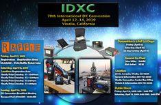 70th International DX Convention 2019! Twitter Website, John Miller, Pinterest Website, Instagram
