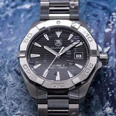 Tag Heuer, Cool Watches, Watches For Men, Wrist Watches, Men's Watches, Big Waves, Watch Brands, Omega Watch, Cool Stuff