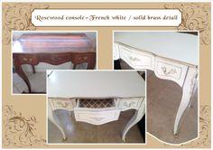 French white desk/dresser
