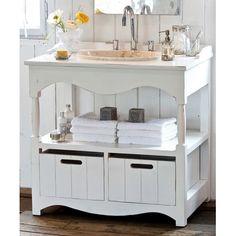 Waschtisch Maisons, mit Marmorbecken