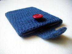 Crochet Kindle Nook EReader Sleeve Cover  by HavenQuiltsNCrochet, $8.00