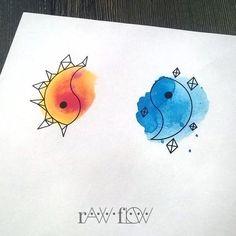 Cute doodle but also a cute tattoo idea.