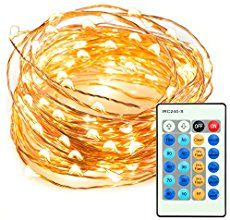 LED String Lights 33 ft with 100 LEDs, TaoTronics Waterproof Decorative Lights for Bedroom, Patio, Parties. UL588 and TUVus Approved ( Copper Wire Lights, Warm White ) - Simple Shopping Lifestyles