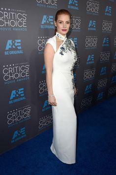 Jessica Chastain attends the 20th annual Critics' Choice Movie Awards at the Hollywood Palladium on January 15, 2015 in Los Angeles, California.