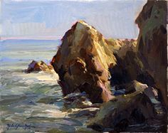 Morning Light, An Original Oil Painting by Michael Shane Neal