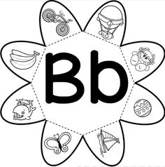 Professora Bel: Alfabeto_flor Alphabet Activities, Preschool Worksheets, Preschool Learning, Teaching The Alphabet, Learning Letters, Speech Language Therapy, Speech And Language, Portuguese Lessons, Alphabet Templates