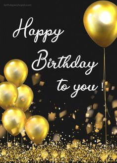 HAPPY BIRTHDAY TO YOU. Best birthday wish card to share with your friends, family and coworkers. The post happy birthday to you appeared first on Birthday Wish Cards. wishes happy birthday to you Happy Birthday Wishes Messages, Free Happy Birthday Cards, Happy Birthday Rose, Happy Birthday Greetings Friends, Birthday Wishes Flowers, Happy Birthday Video, Happy Birthday Celebration, Birthday Wishes And Images, Birthday Blessings
