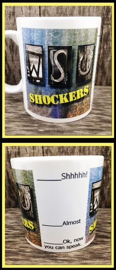 Wichita State University, Shockers, WSU, Kansas, Coffee Mug
