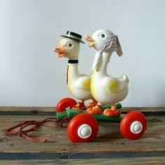 Pull-Along Ducks