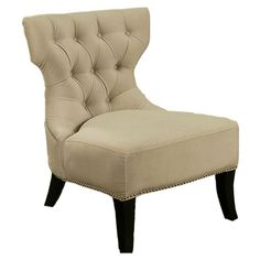 I pinned this Sedona Tufted Accent Chair from the Abbyson Living event at Joss and Main!