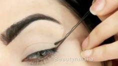 delineado com grampo de cabelo 1