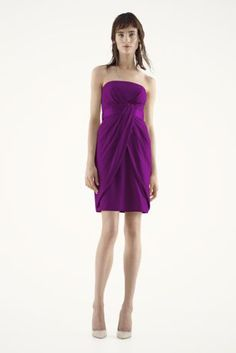 i really like the way the front of the dress looks - bridesmaids dress (colors matching the wedding)