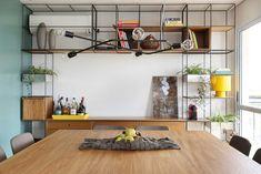 Trinca como aparador sala jantar e apoio estar para projeto do escritório MAB3 ARQUITETURA