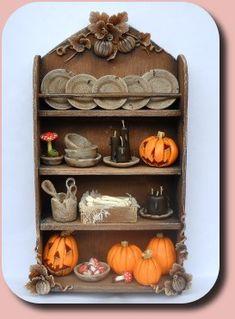 Pumpkin cabinet