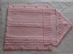 How to tutorial knitting and crochet baby pattern free Free Baby Blanket Patterns, Baby Knitting Patterns, Baby Patterns, Crochet Patterns, Manta Crochet, Crochet Baby, Knit Baby Dress, Baby Cardigan, Knitted Baby Blankets