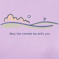 May The Course Be With You  #Lifeisgood #Optimism #Tennis