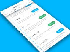 Schedule App by Matt Herrmann