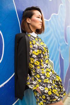 Silk and Suits, Mariko Kuo, Motel Rocks, Stuart Weitzman, Maison Scotch