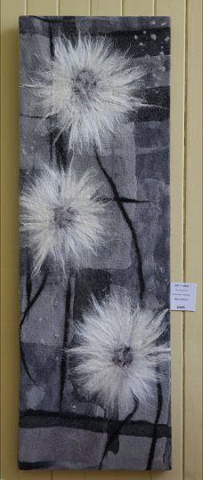 Wendy Bailye Handfelted wallhanging Amazing!