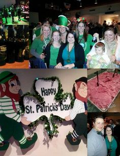collage on eat and sip in the city: scenes from my st. patrick's day
