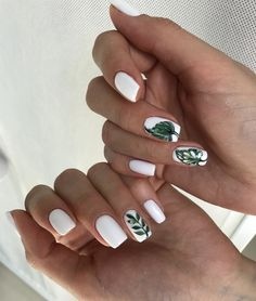 Ideas de manicura para este verano... #manicura #belleza #estilo #manicure #beauty #verano #summer #fashion #chic #beautiful #nail #color