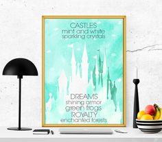 $4 Princess Printable Quote art girly printable by SoulPrintables