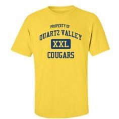 Quartz Valley Elementary School - Fort Jones, CA   Men's T-Shirts Start at $21.97