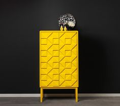 Modern Collection Cabinets yellow color