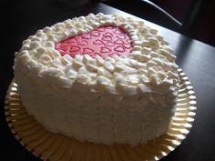 Tarta de San Valentín. Manga pastelera.