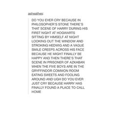 and I thought I was the only one getting feels at that ...