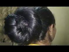 Monster Hair Lady - YouTube Long Black Hair, Hair Videos, Bun Hairstyles, Big Bun, Thick Hair, Lady, Youtube, Big Hair, Bun Hairstyle