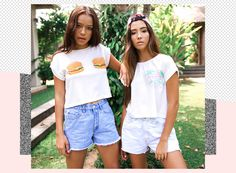 Bossy Range 6 'Weekender Offender' Lookbook in Bali with Alessia and Zahara Peppermayo.com