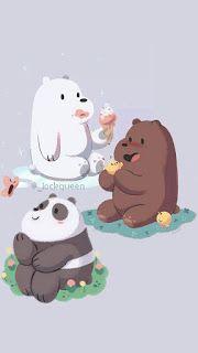 خلفيات أيفون الدببة الثلاثة We Bare Bears Wallpaper Iphone We Bare Bears Wallpapers Bear Wallpaper Bare Bears