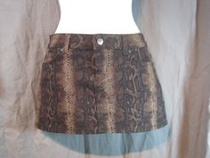 """LIP SERVICE Beau A Constrictor """"Misguided"""" mini skirt #28-126.3"""