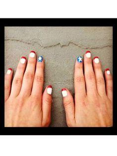 -Patriotic Nails