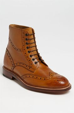 Oliver Sweeney Wren Wingtip Boot available at #Nordstrom I WANT THESE!!!