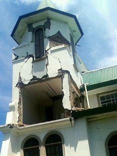Iglesia de Santa Cruz, Guanacaste, Terremoto Costa Rica