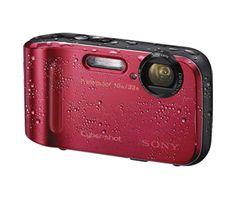 Cyber-shot Digital Camera TF1. Waterproof, dustproof, shockproof and freezeproof. 16.1 megapixels.