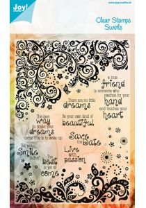 Crafts Clear StampsNoor Design - SwirlsGröße: ca. x 21 cm Tampons Transparents, Heart Hands, True Friends, Clear Stamps, Swirls, Bee, Journal, Personalized Items, How To Make