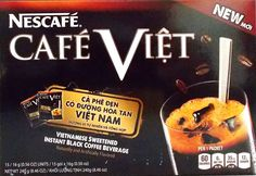 Nescafe Cafe Viet Vietnamese Sweetened Instant Black Coffee Beverage >>> Click image for more details.