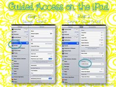What the Teacher Wants!: iPad Tip - Guided Access