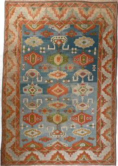 """Sultanahan"", 6.6 x 8.10, Vintage, Turkey // Pak Oriental Rugs"