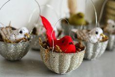 suncrest vintage ornament molds | Gliterry Vintage Jello Mold ornaments by Primitive and Proper