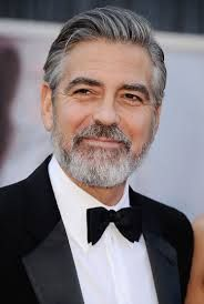 """George Clooney has always been in the eye of the public. His appearance still stirs the heart of many womenRead More Handsome George Clooney's Hairstyles"""" George Clooney Oscar, George Clooney Haircut, Side Part Haircut, Best Beard Oil, Beard Styles, Hair Styles, Tough Woman, Mustache Men, Viking Hair"""
