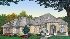single story house plan 2,685 sq ft