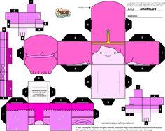 Cubeecraft AT - Princess Bubblegum #2 by adam1875