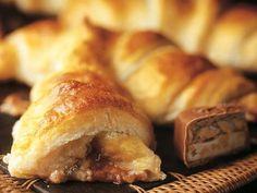Pähkinäsuklaacroissantit - Yhteishyvä