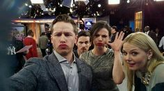Josh Dallas, Jennifer Morrison, Colin O'Donoghue and Lana Parrilla