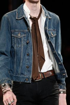 Saint Laurent | Spring 2015 Menswear Collection | Style.com *******************************************