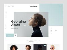 MI Talent: A website template for agencies